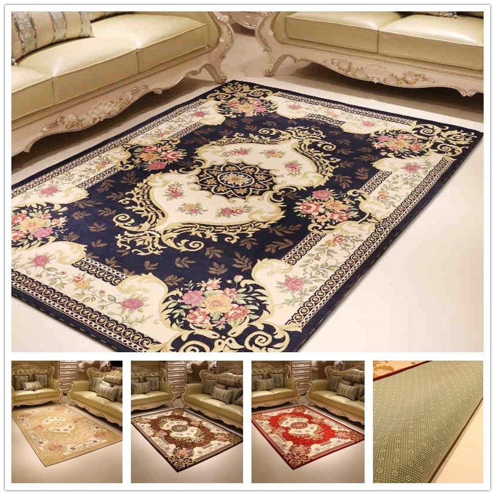 Mat For Home Parlor Bedroom Living Room 9 Dimensions: Top Grade Jacquard Living Room Carpet Parlor Rugs Corridor