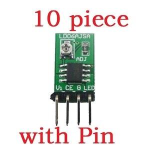 Image 1 - Conversor de corrente constante ajustável do controlador DC DC do motorista pwm do diodo emissor de luz de 10 pces dc 3 v 6 v 30 1500ma