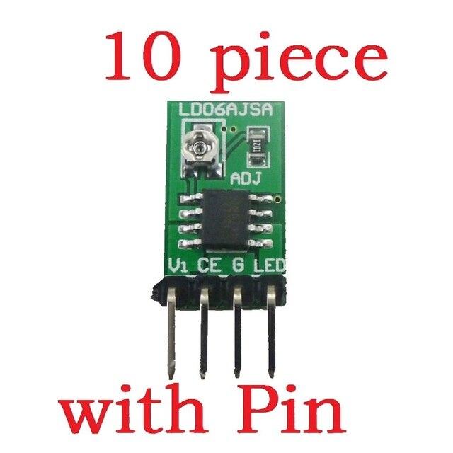 Conversor de corrente constante ajustável do controlador DC DC do motorista pwm do diodo emissor de luz de 10 pces dc 3 v 6 v 30 1500ma
