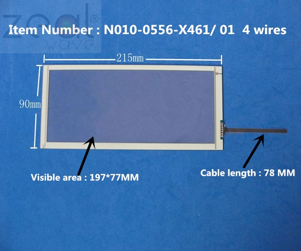 for 15 inch AMT9546 AMT-9546 Industry 8 wire Touch Screen Panel Digitizer