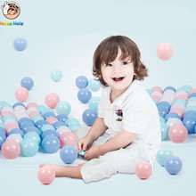 100 pcs lot Eco-Friendly Colorful Ball Plastic Ocean Ball Funny Baby Kid Swim Pit Toy Water Pool Ocean Wave Ball