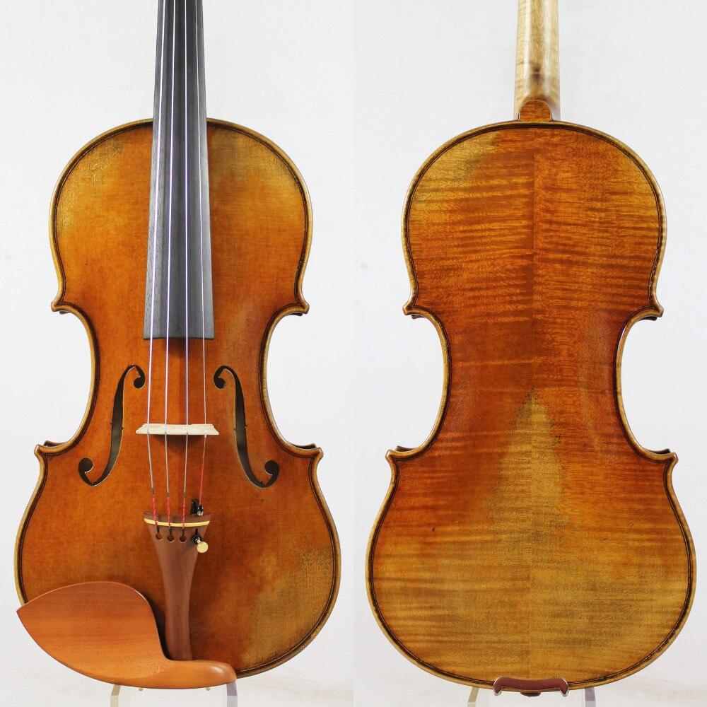 Guarnieri Ole Bull' 1744 Violon violino Copie. Tous les Bois Européenne, vernis à l'huile! Meilleure performance! Shippin Libre, Cas, Arc!