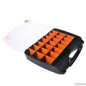 B 460 Large Hand Tools Storage Case Spanner Screwdriver Parts Hardware Organizer Box 38# Tool Bags    -