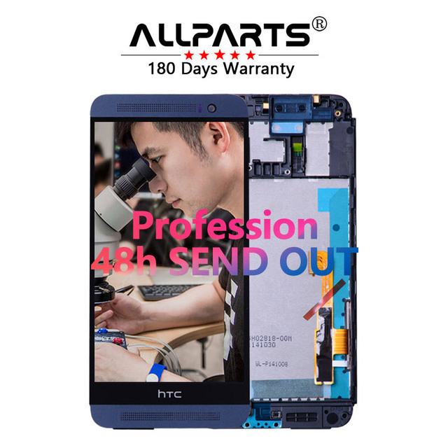 """100% Warranty 5.0"""" for HTC ONE E8 LCD Touch Screen For HTC ONE E8 Display Digitizer Assembly Replacement Parts M8ST"""