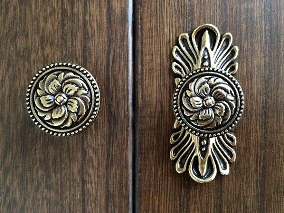Ornate Drawer Knobs Promotion-Shop for Promotional Ornate Drawer ...