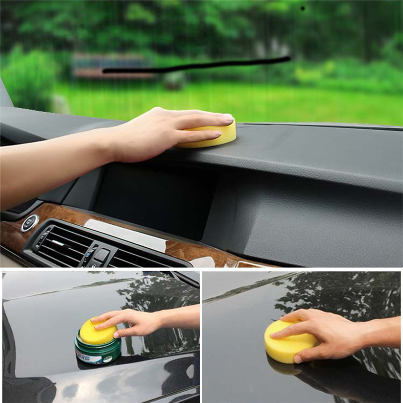 Car-styling shunwei 10pcs Waxing Polish Wax Foam Sponge Pads Cars Vehicle Glass Clean td0207 dropship