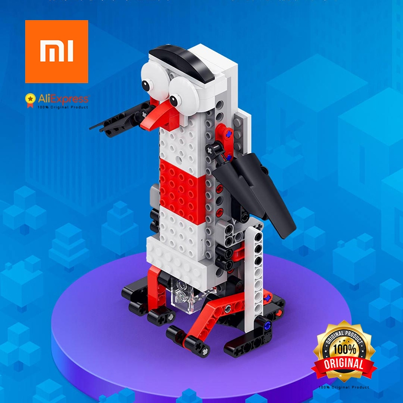 Xiaomi Original Intellectual Childrens Designer APP Playing and Teaching, Programming Control, Changeable spelling teaching sequence programming controller demonstration controller system teaching programming controller