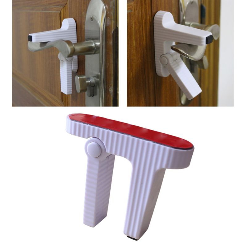 Baby Safety Lock Door Lever Home Newborn Kids Children Protection Doors Handle Universal Safety Lock