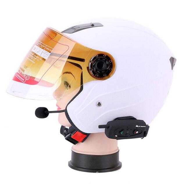 2 sztuk 500 M kask motocyklowy z Bluetooth interkom zestaw słuchawkowy V2-500 bezprzewodowy domofon słuchawki dla 2 zawodników zestaw głośnomówiący słuchawki otrzymać telefon zwrotny od