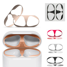 Cute and useful Dust Free Protective Sticker Skin Protector for Air Pods Accessories  for Apple AirPods Case Cover