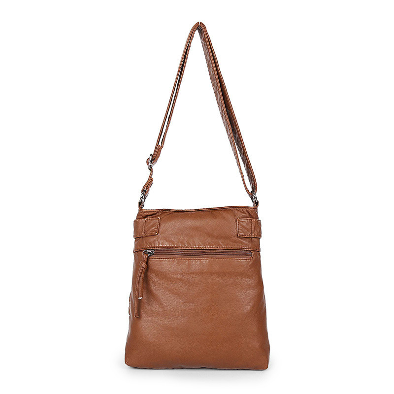 0ad432029313 Aliexpress.com   Buy 2018 Women Soft PU Leather Handbags Ladies Large  Capacity Tote Bag Female Purse Shoulder Messenger Bags Fashion Crossbody  from Reliable ...