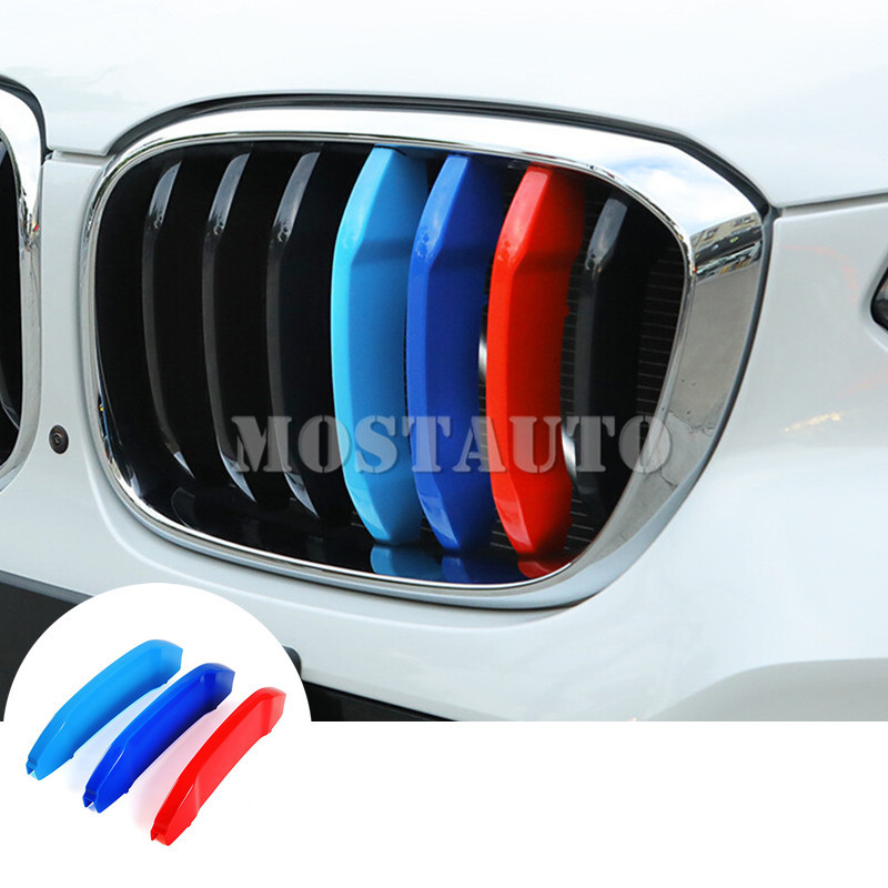 For BMW X4 2014 2015 ABS Chrome Inner Head Light Switch Button Cover Trim 3pcs