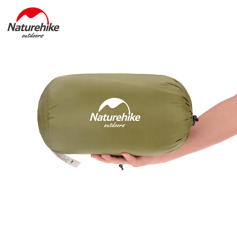 Naturehike New Ultralight Summer Sleeping bag Envelope Sleeping bag Cotton Sleeping bag 0.8kg NH15A150 D