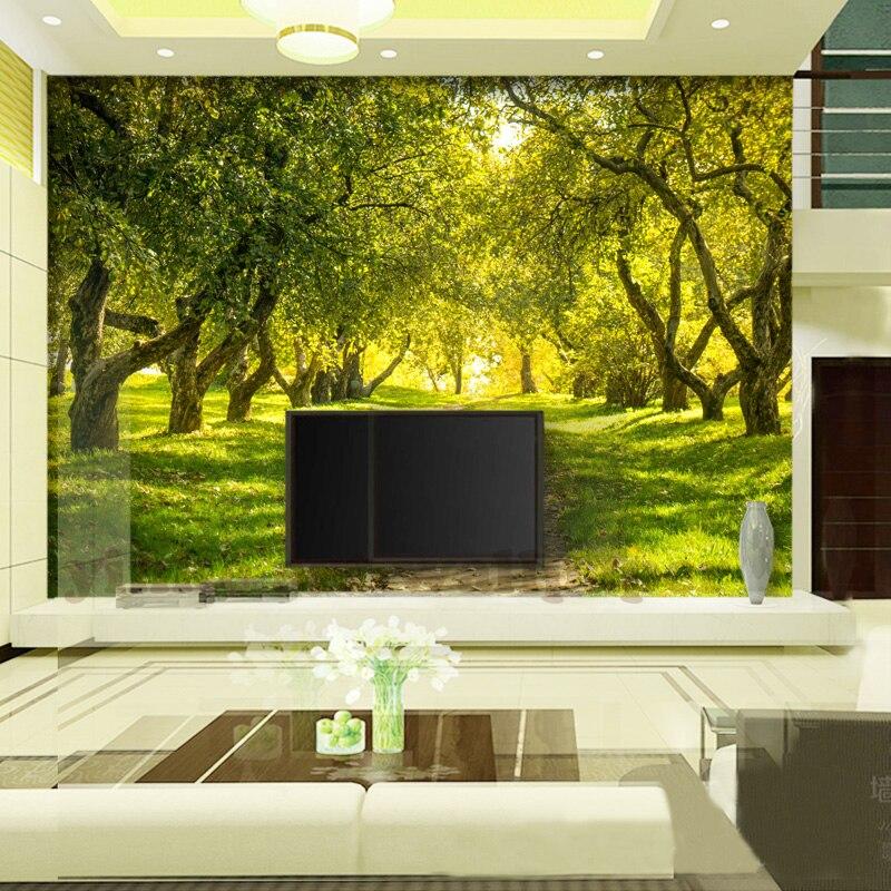 costom 3d wallpaper TV wall art nature landscape photo wall murals ...