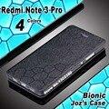 Xiomi xiaomi redmi note 3 pro 32 gb caso capa de couro de luxo água cubo pu do caso da aleta para xiaomi redmi note 3 pro 16 gb 4 estilo