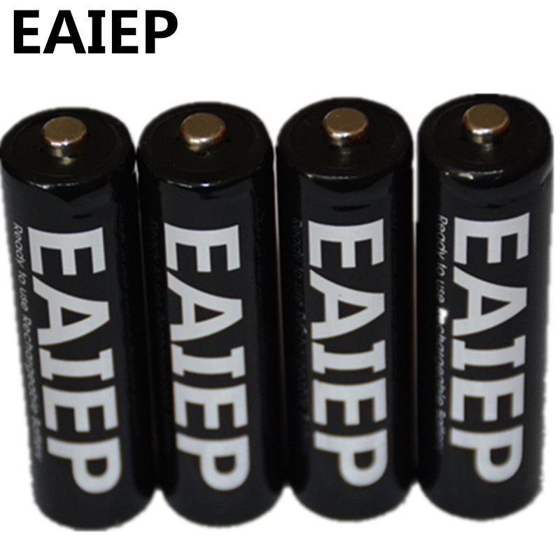4 units AA battery Battery 1.2V AA 1000mAh Ni-MH rechargeable rechargeable battery 2A toy battery, electronic products rechargea