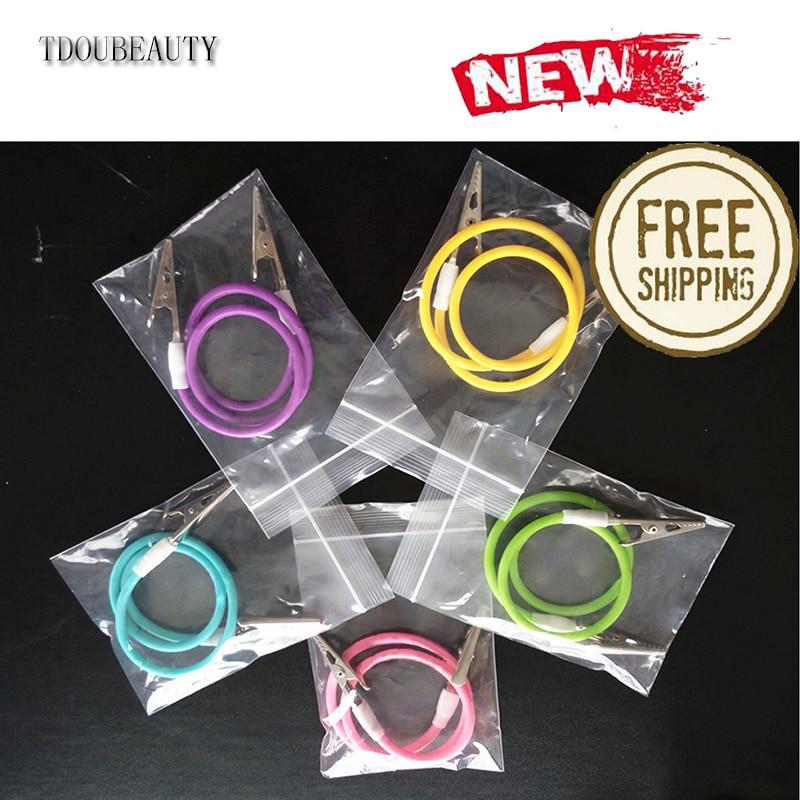 Discreet 5pcs Tdoubeauty High-temperature Sterilizable Dental Silicone Bib Clips Napkin Holder Chain Free Shipping Beauty & Health Tools & Accessories