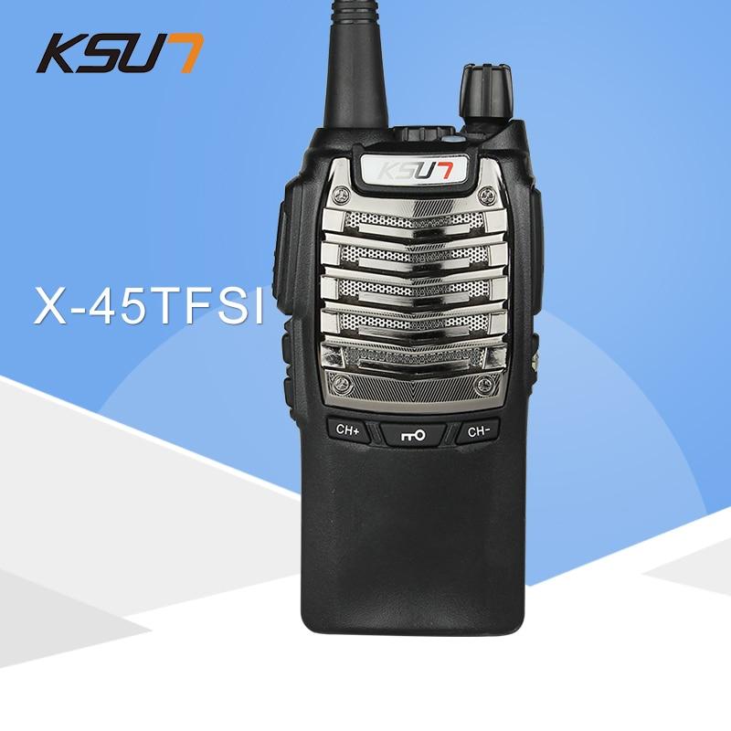(1PCS) KSUN X-45tfsi tvåvägs radiofidelitet ljudkvalitet Hotell civila gör en hand walkie talkie