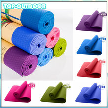 9 Color TPE Yoga Mat Non-Slip Body Building Health Lose Weight Exercise Gym Household Cushion Fitness Pad 8mm 183cm&61cm
