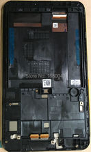 Für asus fonepad 7 me170c fe170cg me170 k012 tablet lcd LED Touchscreen Digitizer Glass Assembly mit SCHWARZEM Rahmen 5581L FPC-1