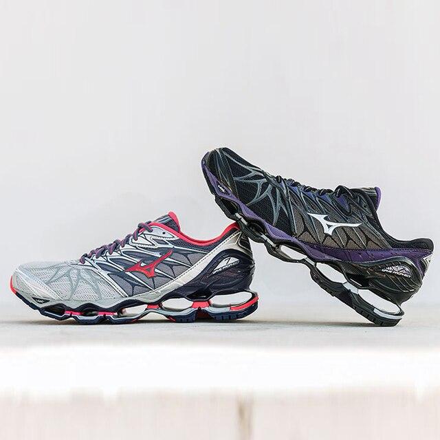 2018 НОВЫЙ Mizuno Wave Prophecy 7 Professional Мужская обувь 6 Цвет обувь Для мужчин штангетки кроссовки размер 40-45