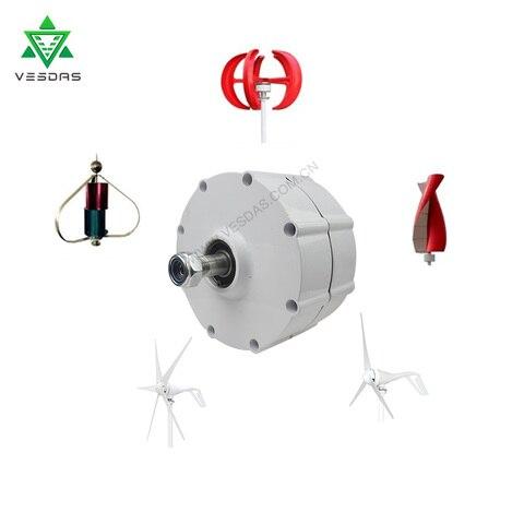 gerador 400w da turbina eolica alternador ca de diy