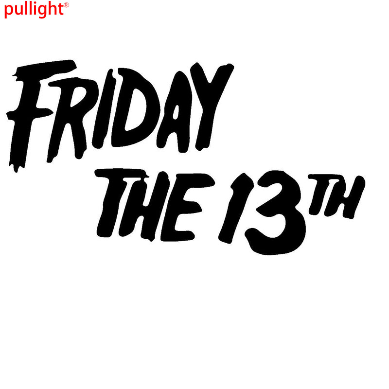 Friday The 13th Game Graphic Die Cut decal sticker Car Truck Boat Window 7/""