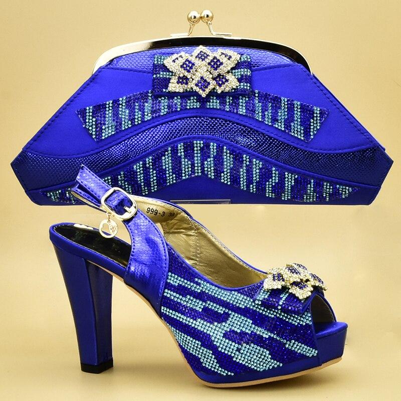 Und Verziert Frau Damen Wine Neue Pumpen Mit Strass Italienische Ankunft Taschen Heels blau Set Tasche Frauen purpurrot High Schuhe gold IAnw4Sq