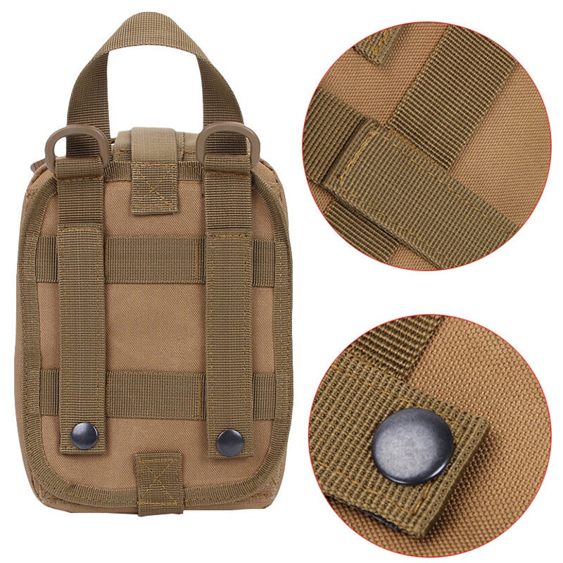 Image 5 - Hot Outdoor Molle Medical Package Utility Tactical Pouch Medical First Aid Kit Patch Bag Cover Hunting Emergency Survival Bag-in Safety & Survival from Sports & Entertainment
