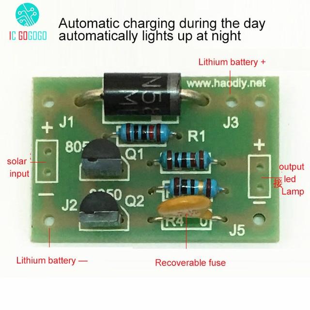 lampe solaire batterie lithium