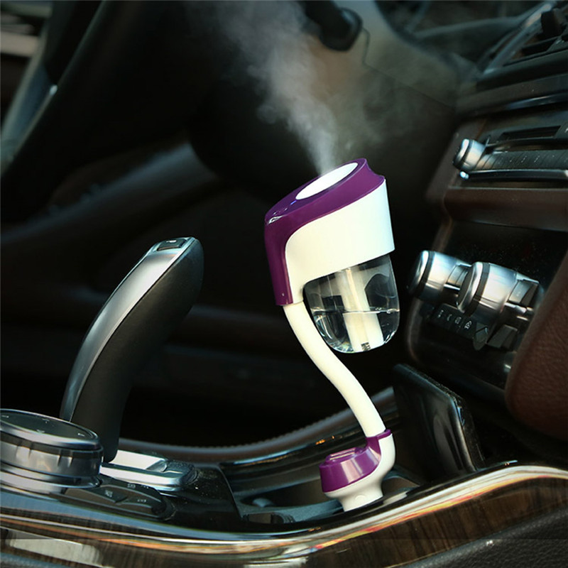 The second generation with USB charging port car air purifier steam humidifier aromatherapy essential oils aromatherapy spray 60w magsafe 2 car charger with usb port for apple macbook