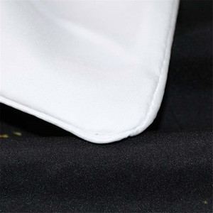 Image 5 - BlessLiving Marble Quilt Cover Modern Faux Gold Glitter Black Marble Stone Bedding Set Queen 3 Pieces Trendy Duvet Cover Set