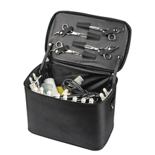Large Space Comb Scissors Hairdressing Bag with Strip Hairdressing Tool Bag Portable Barber Hair Styling Storage Case
