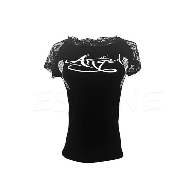 Women'S T Shirt Back Hollow...