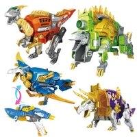 2 in 1 Dinosaur Toy Gun Outdoor Fun Sports Toys Gun soft bullets Kid Airsoft Pistol Transformation Alloy Airsoft Air Guns gift
