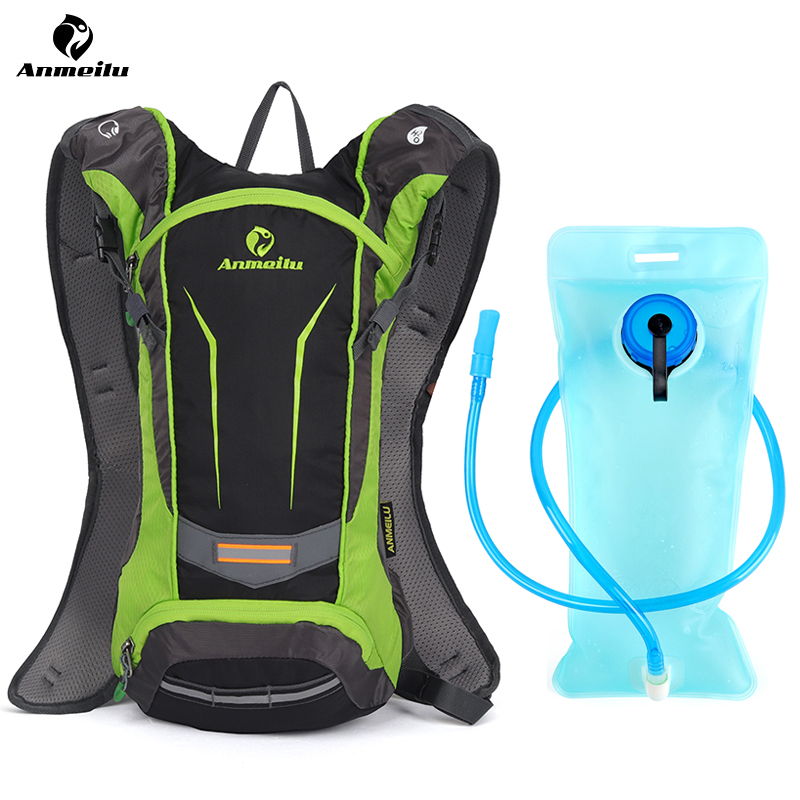Us 7 01 46 Off Anmeilu 8l Waterproof Mtb Bike Water Bag Cycling Backpack For Bicycle Outdoor Hiking Trekking Hydration No In