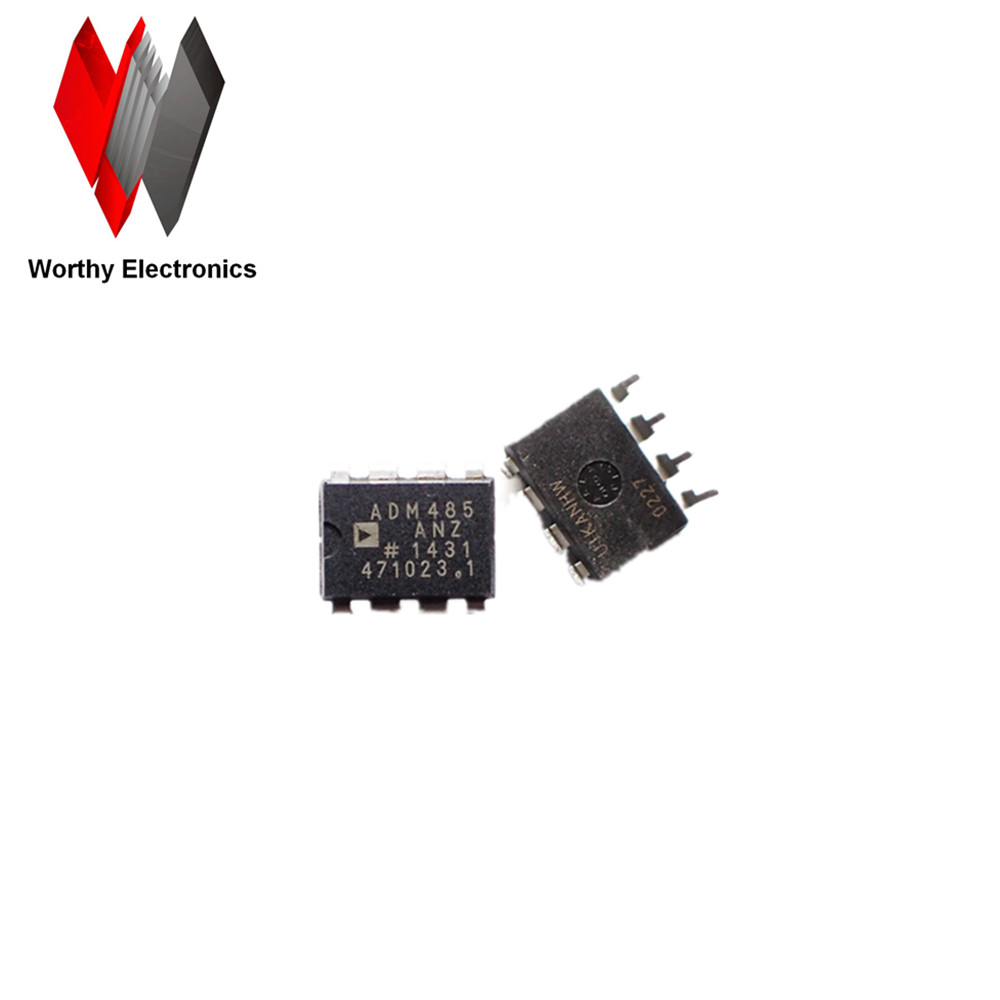 IC TX/RX SINGLE RS-485 5V  ADM485  ADM485A  ADM485AN  8DIP  ADM485ANZ  Transceiver   IC