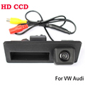 HD CCD Reverse Rear Camera For Audi A4 A5 S5 Q5 VW Passat Tiguan Golf Passat Touran Jetta Sharan Touareg Car Trunk Handle Camera