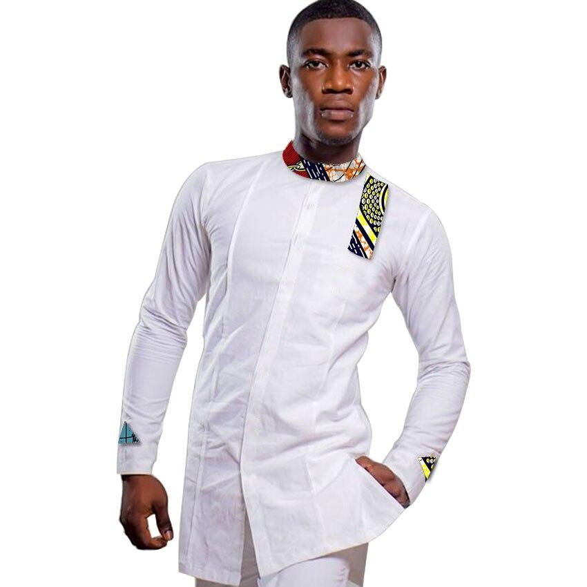 Ανδρικά αφρικανικά πουκάμισο - Εθνικά ρούχα - Φωτογραφία 4