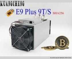 Auf lager!! asic Miner Ebit E9 Plus 9T 14nm Miner integrierte maschine besser als Antminer S9 für BTC BCH