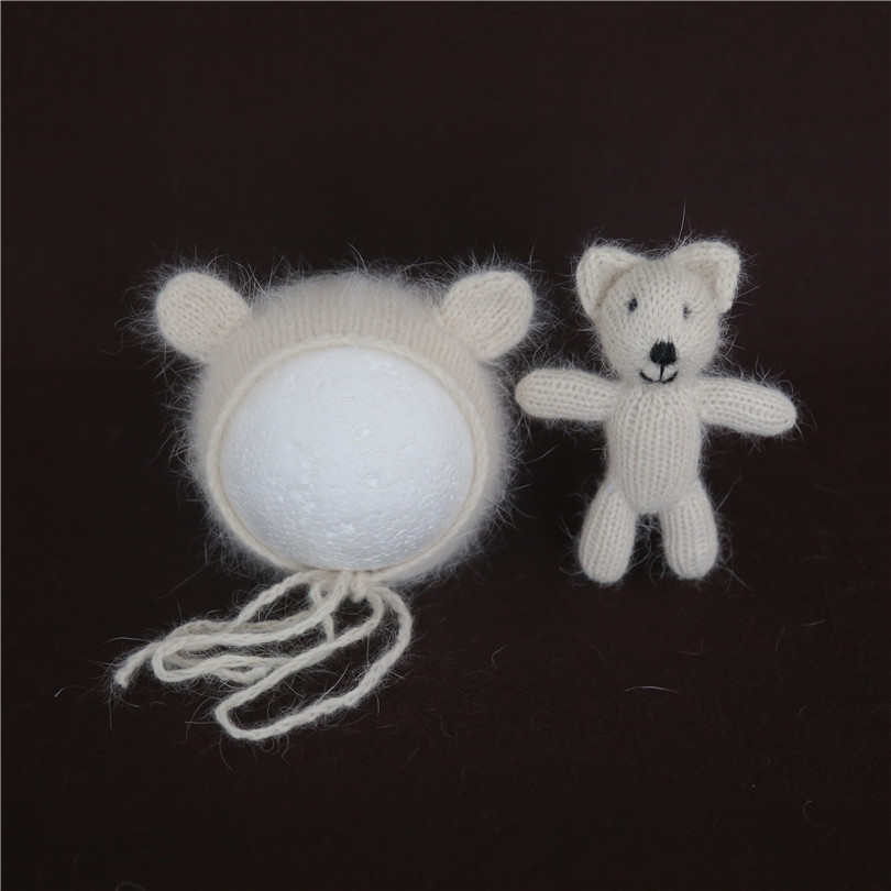 angora wool hat set (5)