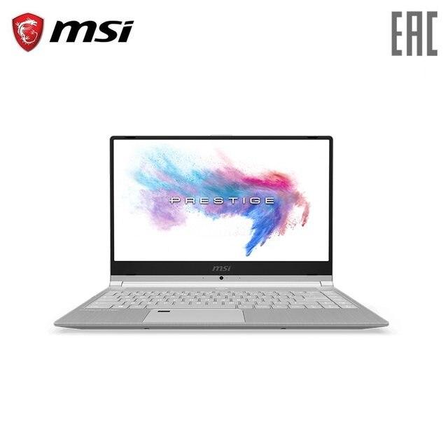 """Ноутбук MSI PS42 8 м 14 """"/i5-8250U/8 ГБ/256 ГБ SSD/NoODD/UMA/Dos/Silver (9S7-14B141-203)"""