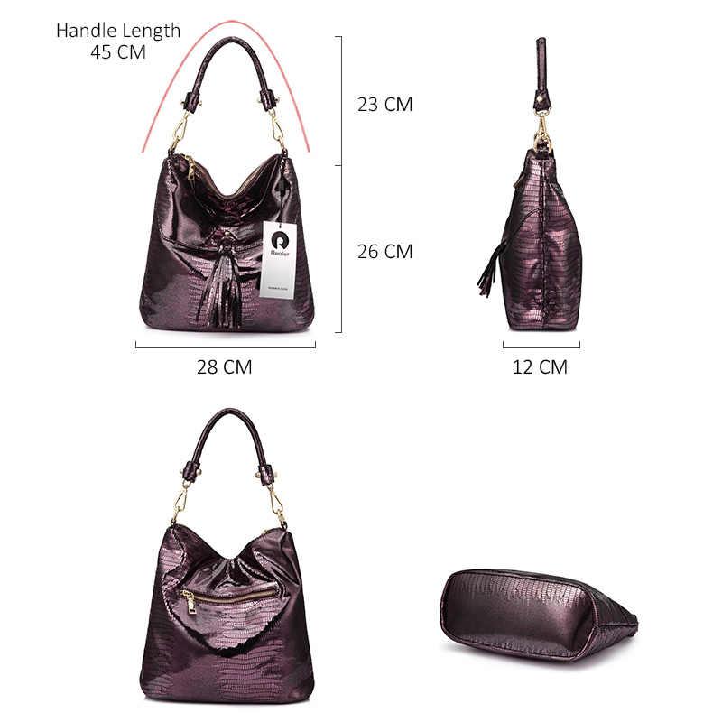 REALER сумки женские через плечо дамские кроссбоди сумки со змеиным принтом из искусственной кожи не большая сумочка с короткими ручкамидля женщины и девочек