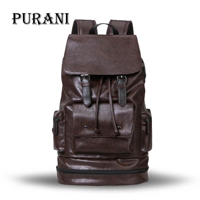 New Man Backpack Luggage Bag Backpack Men Travel Bucket Bags Backpacks Large Capacity Waterproof Leather Rucksack
