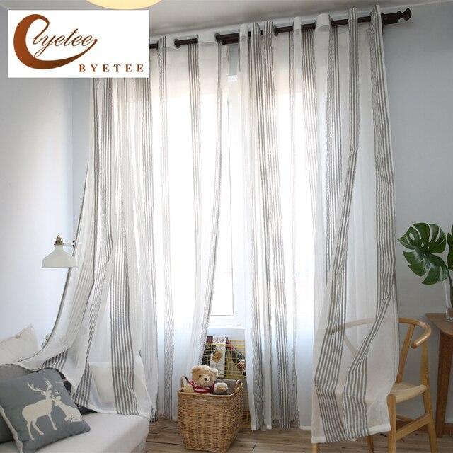 Cortinas de gasa free rbol de lino cortinas para las - Cortinas de gasa ...