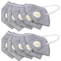 10 teile/satz 3D Atemschutz Maske Falten Filter Atmen Anti-smog Anti-staub Anti-geruch Winddicht Ohr- haken Medizinische Schutz Masken