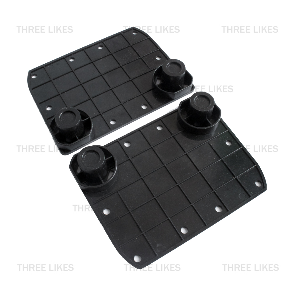 2 Pcs Hoverboard Rubber Sensor Gyroscope Pad Pedals Replacement Kit Set for Smart 6.5 2 Wheels Self Balancing Electric Scooter