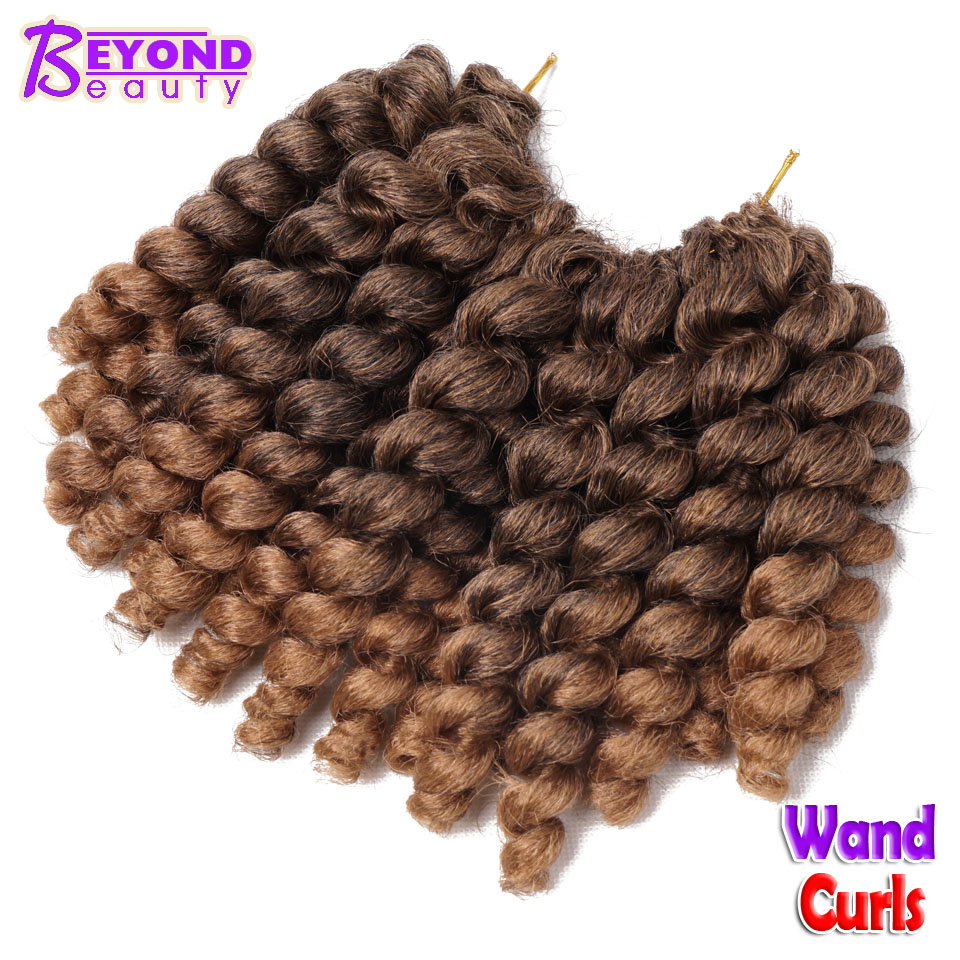 Fluffy bounce wand curls crochet hair extensions african synthetic a1usually the synthetic hair can last 4 8 weekswhen you complets the braidyou need to take good care of it to let them last long time pmusecretfo Choice Image