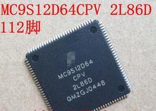 100% NOVA Frete grátis MC9S12D64CPV 2L86D