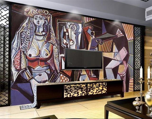 Papier Peint Chambre 3d Papier Peint Personnalisé Intissé Photo Les